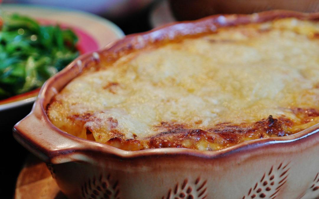 Turkey & Spinach Lasagne