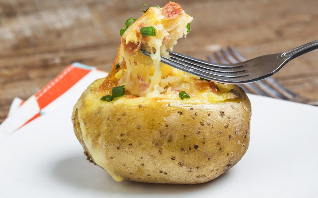 Baked Potatoes 'n' Pork